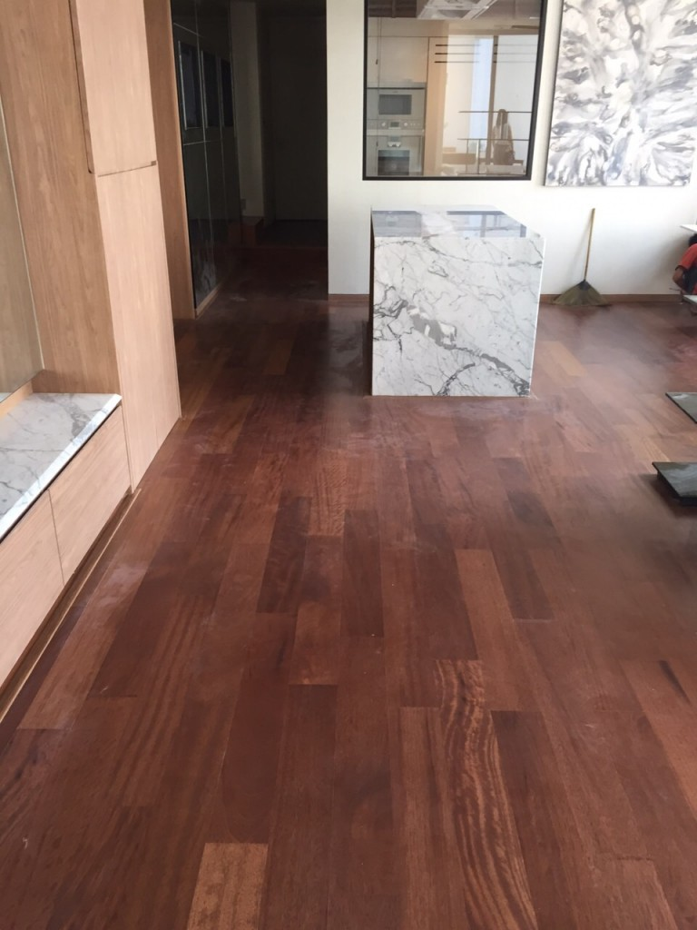 Iroko Wood Flooring