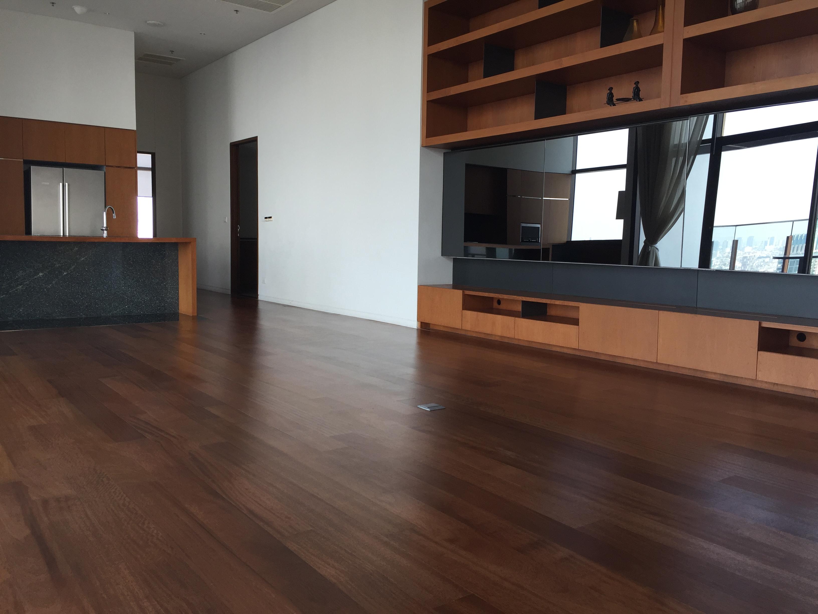 Teak Wood Flooring @ Hansar Hotel and Residence