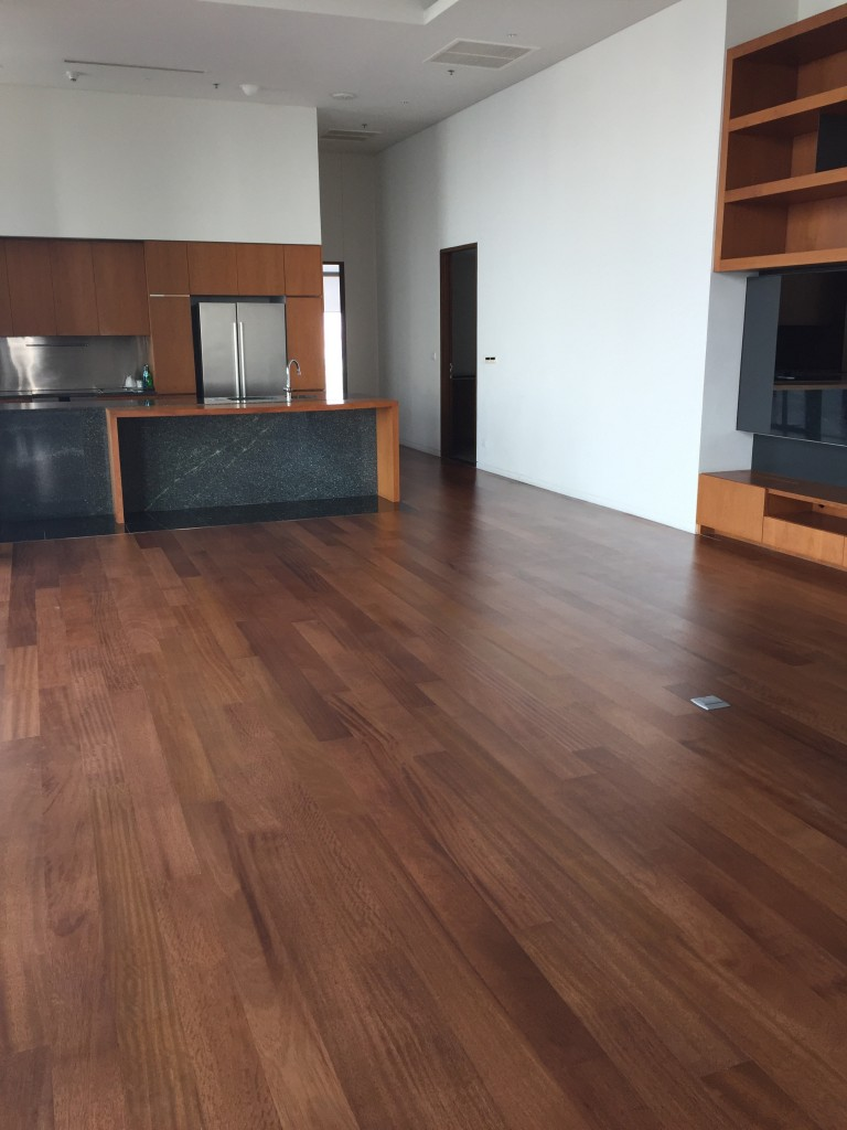 Teak Wood Flooring @ Hansar Hotel and Residence