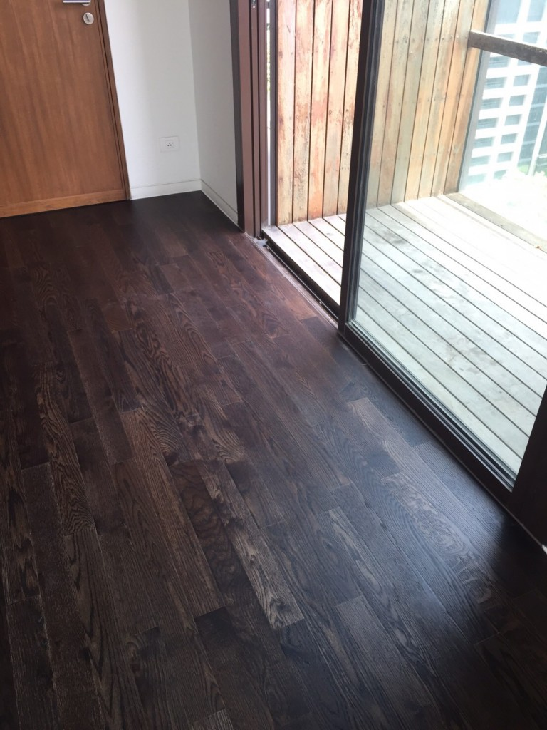 Oak Smoke Brushed @ Hansar Hotel and Residence